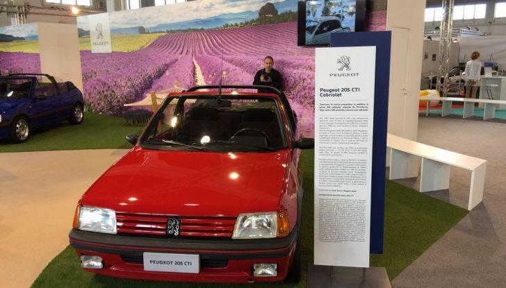 Peugeot al Salone Auto e Moto d'Epoca: i trent'anni della 205 - Foto 1 di 11