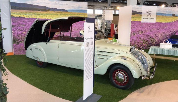 Peugeot al Salone Auto e Moto d'Epoca: i trent'anni della 205 - Foto 5 di 11