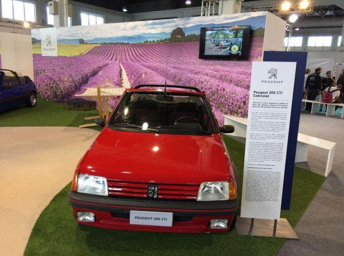 Peugeot al Salone Auto e Moto d'Epoca: i trent'anni della 205 - Foto 6 di 11