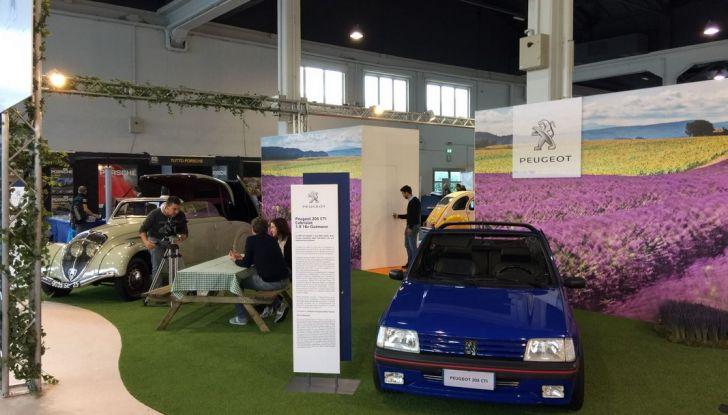 Peugeot al Salone Auto e Moto d'Epoca: i trent'anni della 205 - Foto 7 di 11