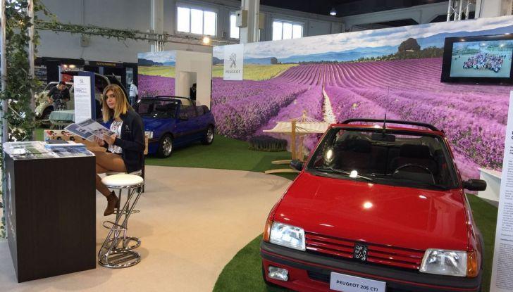 Peugeot al Salone Auto e Moto d'Epoca: i trent'anni della 205 - Foto 8 di 11