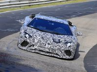 Lamborghini Aventador 2017 Facelift, le prime foto in pista