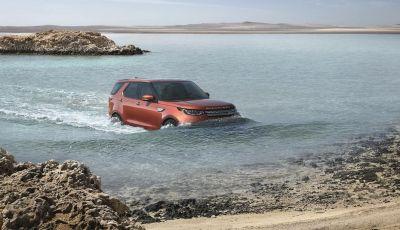 Nuova Land Rover Discovery al salone Auto e Moto d'Epoca