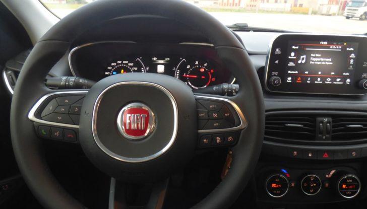 Fiat Tipo 5 porte, la prova su strada del Multijet 1.6 da 120CV: non vorrei ma posso - Foto 32 di 38