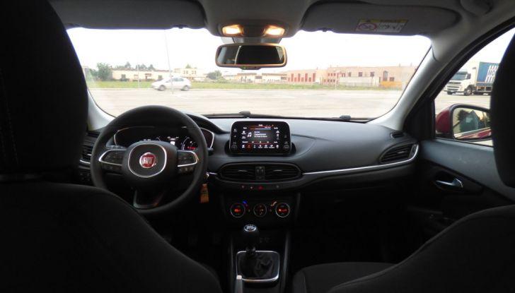 Fiat Tipo 5 porte, la prova su strada del Multijet 1.6 da 120CV: non vorrei ma posso - Foto 36 di 38