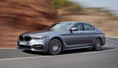 Nuova BMW Serie 5 2017, prime immagini ufficiali e informazioni