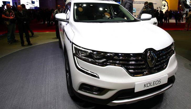 Renault Koleos svelata a Parigi la nuova crossover che potrebbe diventare ibrida - Foto 2 di 12