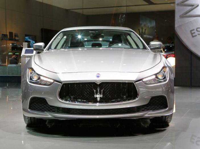 Nuova Maserati Ghibli 2017 al Salone di Parigi - Foto 9 di 15