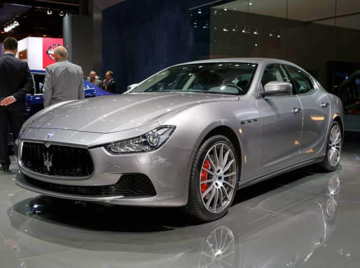 Nuova Maserati Ghibli 2017 al Salone di Parigi - Foto 11 di 15