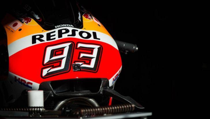 Marc Marquez Honda.