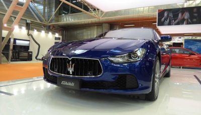 Nuova Maserati Ghibli 2017 al Salone di Parigi
