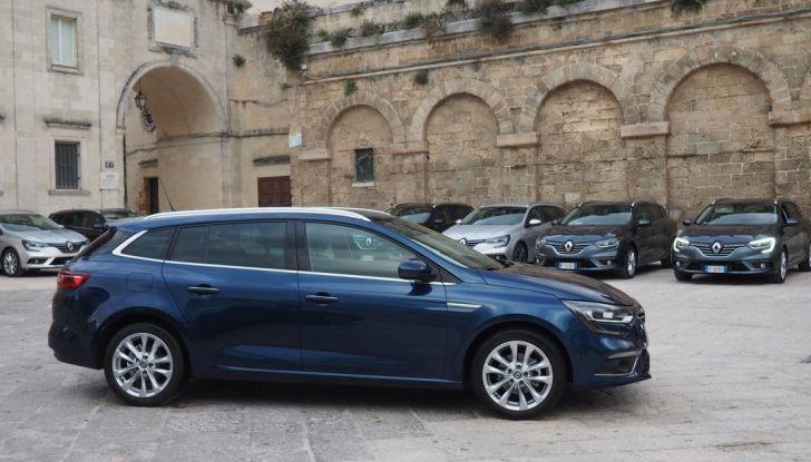 Nuova Renault Megane Sporter prova su strada