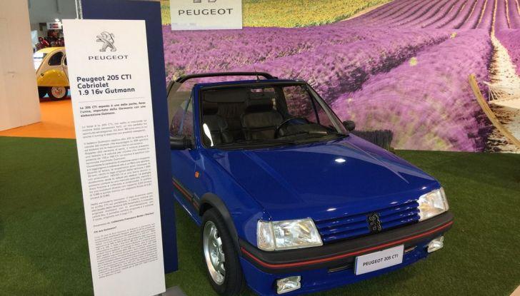 Peugeot al Salone Auto e Moto d'Epoca: i trent'anni della 205 - Foto 11 di 11