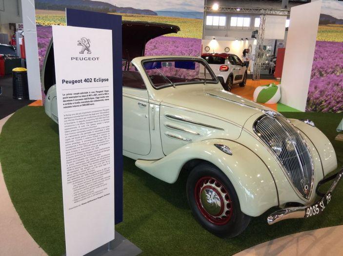Le auto di ieri e di oggi al salone Auto e Moto d'Epoca 2106 - Foto 11 di 19