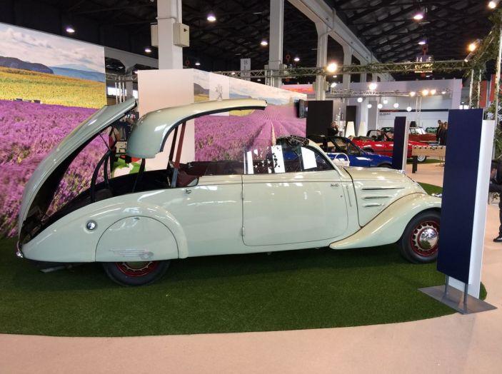Le auto di ieri e di oggi al salone Auto e Moto d'Epoca 2106 - Foto 12 di 19
