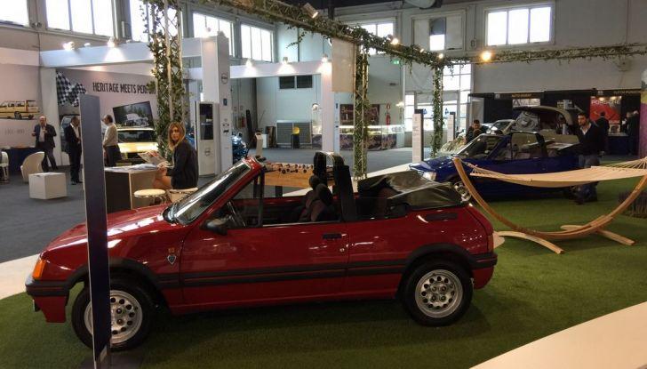 Peugeot al Salone Auto e Moto d'Epoca: i trent'anni della 205 - Foto 4 di 11