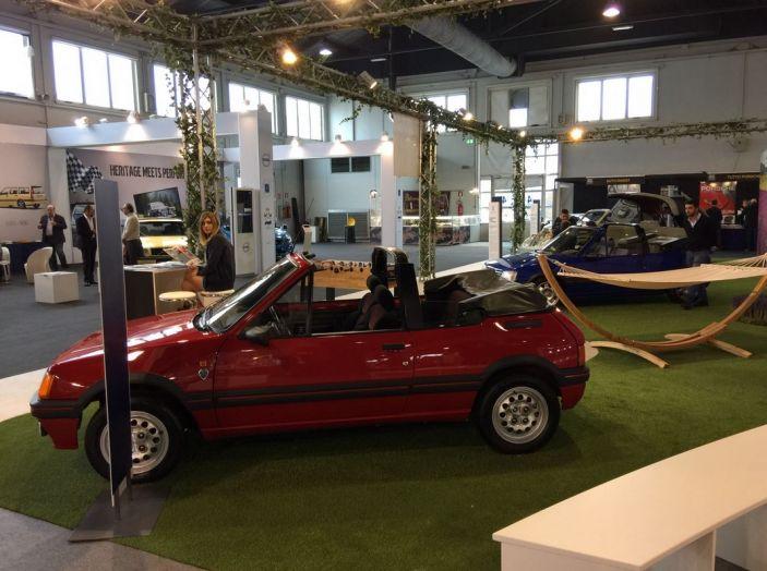 Le auto di ieri e di oggi al salone Auto e Moto d'Epoca 2106 - Foto 6 di 19