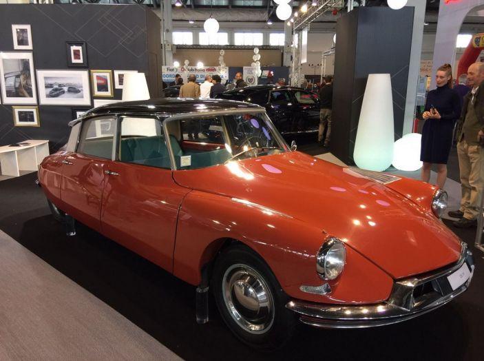 Le auto di ieri e di oggi al salone Auto e Moto d'Epoca 2106 - Foto 3 di 19