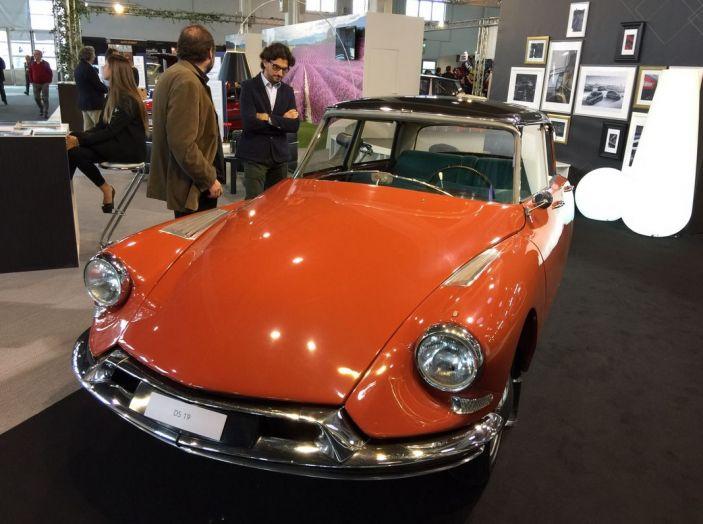 Le auto di ieri e di oggi al salone Auto e Moto d'Epoca 2106