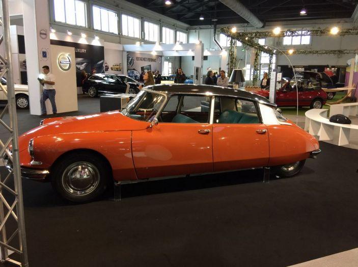 Le auto di ieri e di oggi al salone Auto e Moto d'Epoca 2106 - Foto 2 di 19