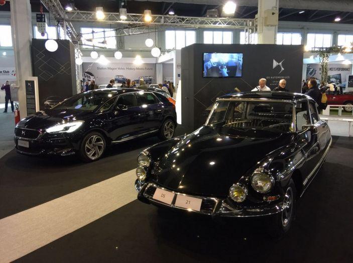 Le auto di ieri e di oggi al salone Auto e Moto d'Epoca 2106 - Foto 8 di 19