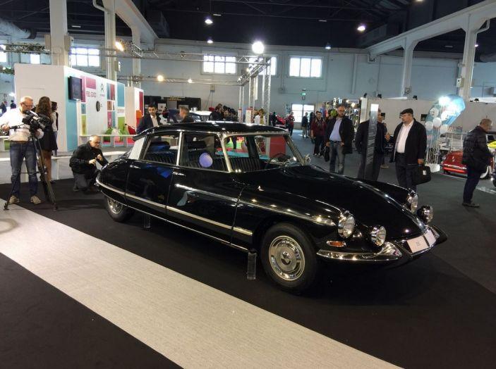 Le auto di ieri e di oggi al salone Auto e Moto d'Epoca 2106 - Foto 10 di 19