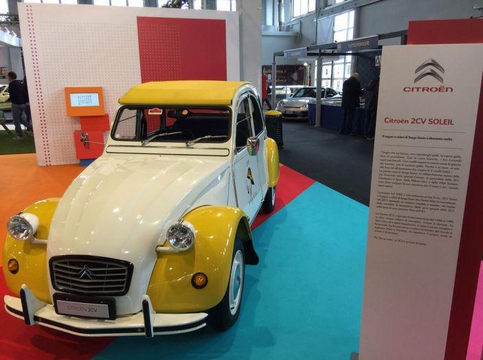 Le auto di ieri e di oggi al salone Auto e Moto d'Epoca 2106 - Foto 18 di 19