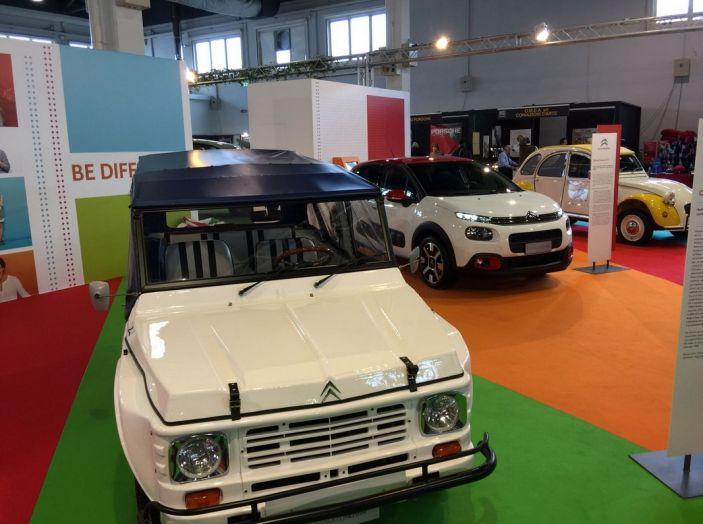 Le auto di ieri e di oggi al salone Auto e Moto d'Epoca 2106 - Foto 13 di 19