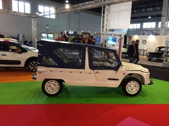 Le auto di ieri e di oggi al salone Auto e Moto d'Epoca 2106 - Foto 15 di 19