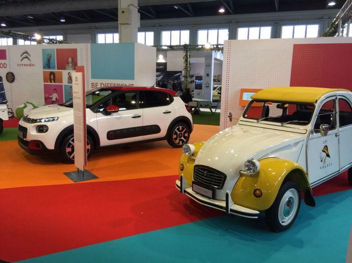 Le auto di ieri e di oggi al salone Auto e Moto d'Epoca 2106 - Foto 17 di 19