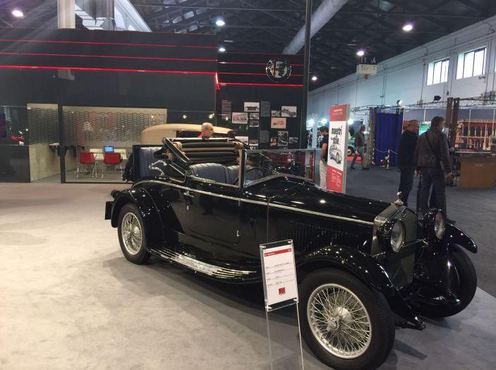 Le più belle auto storiche del salone Auto e Moto d'Epoca 2016 - Foto 11 di 28