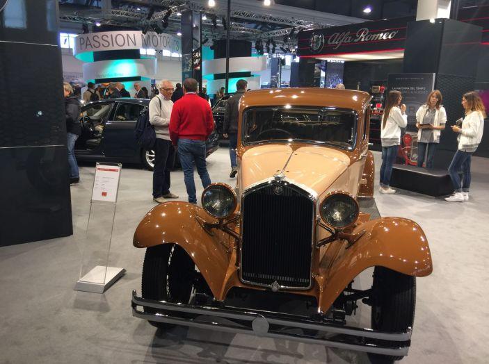 Le più belle auto storiche del salone Auto e Moto d'Epoca 2016 - Foto 4 di 28