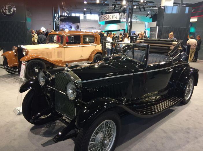 Le più belle auto storiche del salone Auto e Moto d'Epoca 2016 - Foto 18 di 28