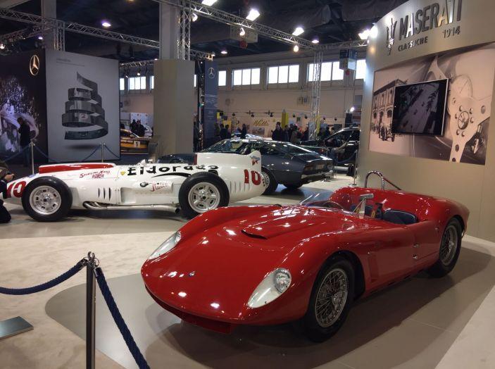 Le più belle auto storiche del salone Auto e Moto d'Epoca 2016 - Foto 3 di 28