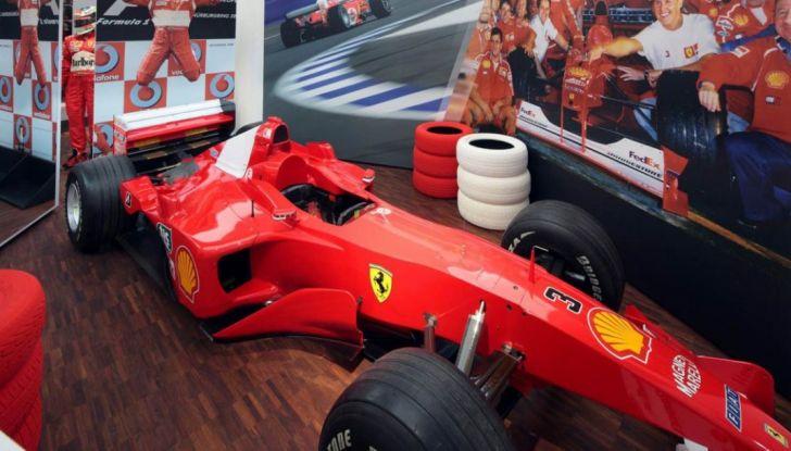 La collezione privata di Michael Schumacher gratuita e aperta a tutti - Foto 1 di 10