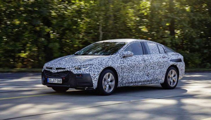 Nuova Opel Insignia Grand Sport test drive, prestazioni e dotazioni - Foto 6 di 10