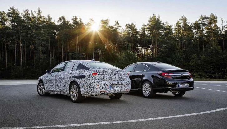 Nuova Opel Insignia Grand Sport test drive, prestazioni e dotazioni - Foto 8 di 10