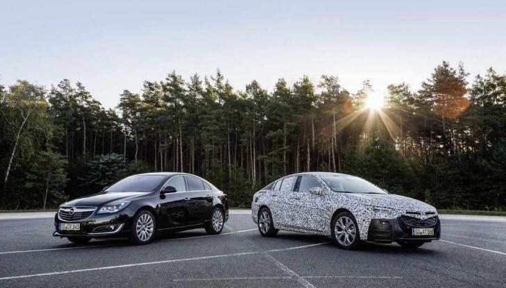 Nuova Opel Insignia Grand Sport test drive, prestazioni e dotazioni - Foto 2 di 10