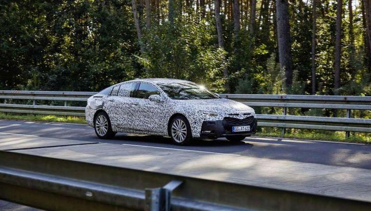 Nuova Opel Insignia Grand Sport test drive, prestazioni e dotazioni - Foto 10 di 10