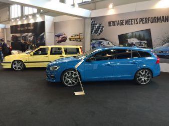 Volvo V90 e le grandi station svedesi protagoniste a Auto e Moto d'Epoca 2016