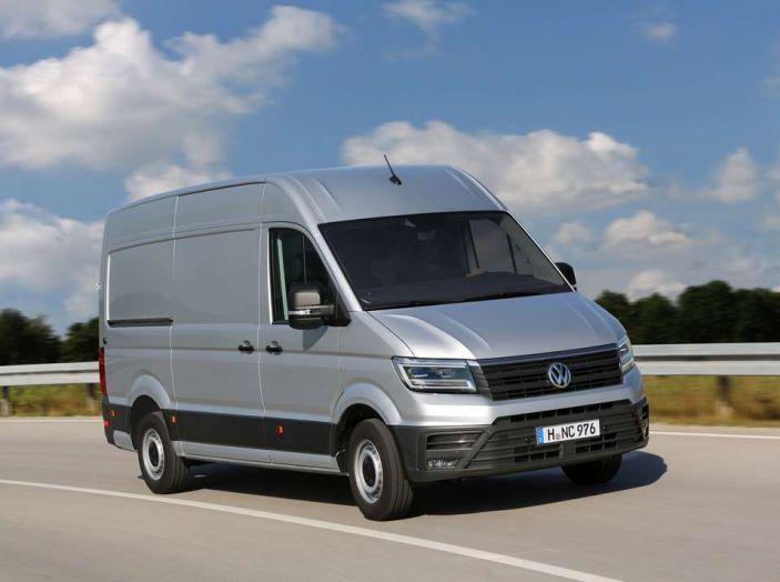 Volkswagen Crafter prova su strada del veicolo commerciale di nuova generazione - Foto 1 di 34