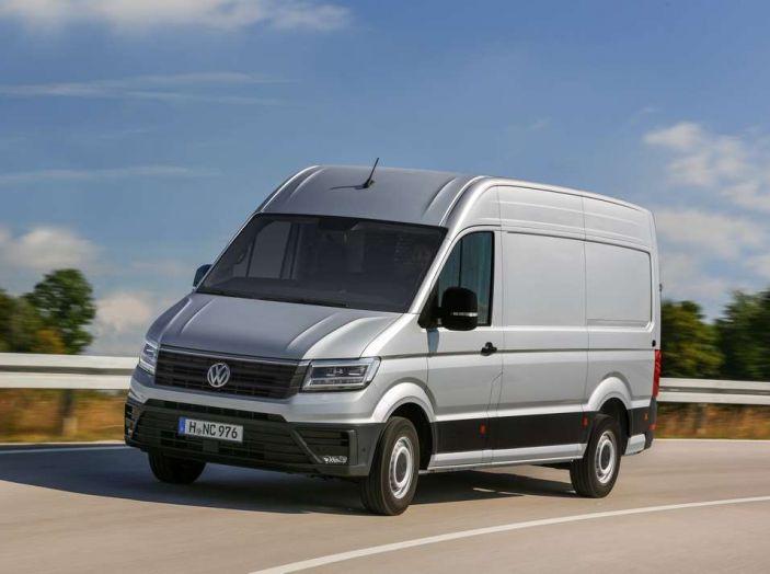 Volkswagen Crafter prova su strada del veicolo commerciale di nuova generazione - Foto 4 di 34