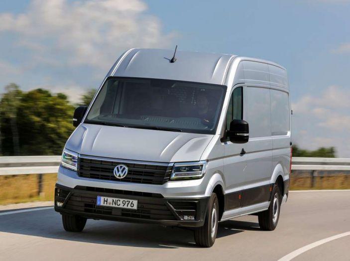 Volkswagen Crafter prova su strada del veicolo commerciale di nuova generazione - Foto 12 di 34