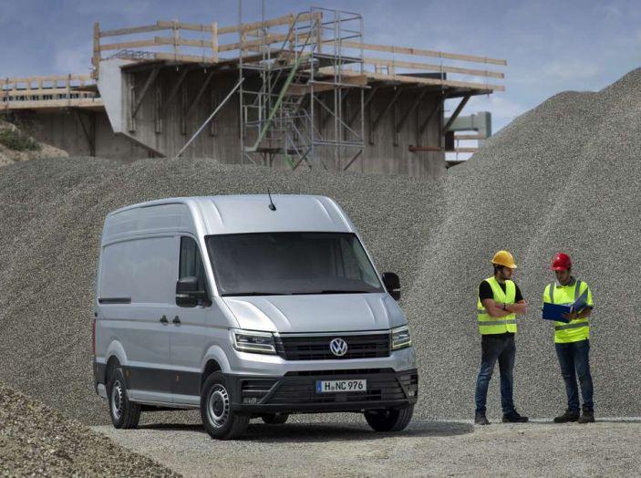 Volkswagen Crafter prova su strada del veicolo commerciale di nuova generazione - Foto 3 di 34