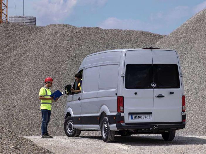 Volkswagen Crafter prova su strada del veicolo commerciale di nuova generazione - Foto 13 di 34