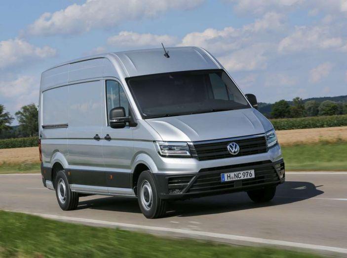 Volkswagen Crafter prova su strada del veicolo commerciale di nuova generazione - Foto 15 di 34
