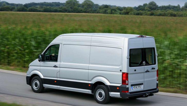 Volkswagen Crafter prova su strada del veicolo commerciale di nuova generazione - Foto 18 di 34