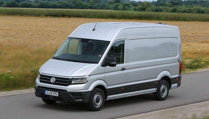 Volkswagen Crafter prova su strada del veicolo commerciale di nuova generazione - Foto 7 di 34