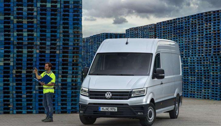 Volkswagen Crafter prova su strada del veicolo commerciale di nuova generazione - Foto 22 di 34