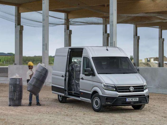 Volkswagen Crafter prova su strada del veicolo commerciale di nuova generazione - Foto 24 di 34